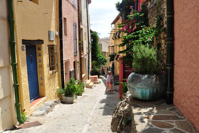 Escapade en France: les jolies ruelles de Colliouresur la cote catalane