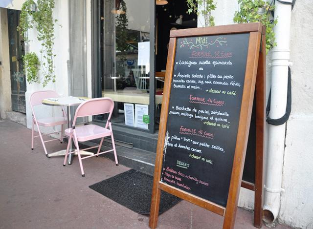 Le menu de Pimpon, bonne adresse à Montpellier