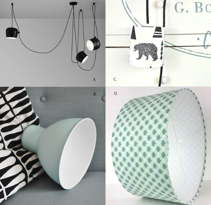 Des jolies lampes