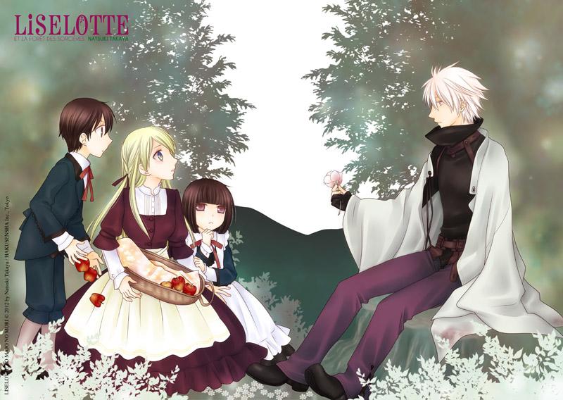 Liselotte: manga édité par Delcourt en France