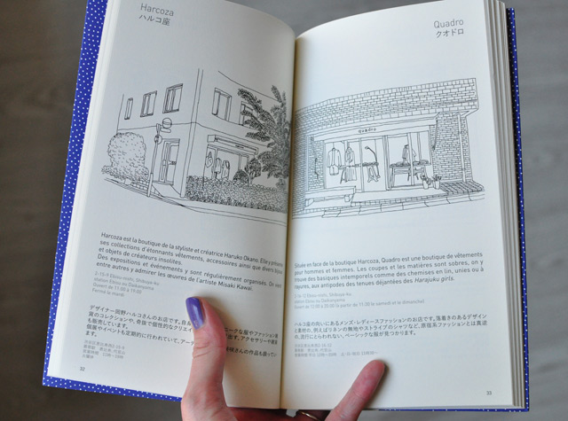 Guide de Tokyo: carnet d'adresses