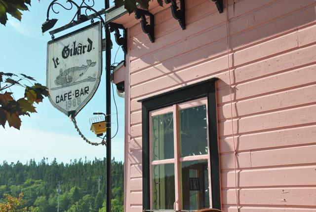 Café à Tadoussac: Le Gibard