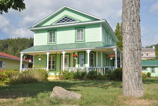 Maison québécoise à Tadoussac