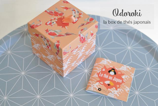 On goûte des thés japonais avec Odoroki: la box de thé d'envouthé