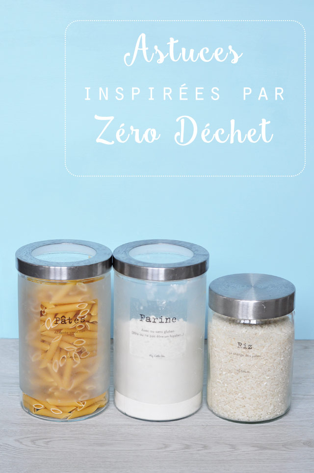 Des bocaux pour éviter les emballages - astuces zéro déchet