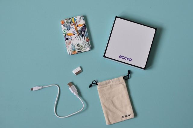 Les batteries nomades design d'Accoo, start-up française