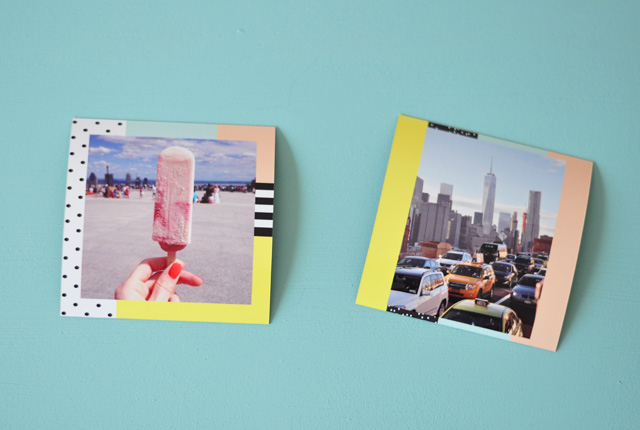 Photos en magnets!