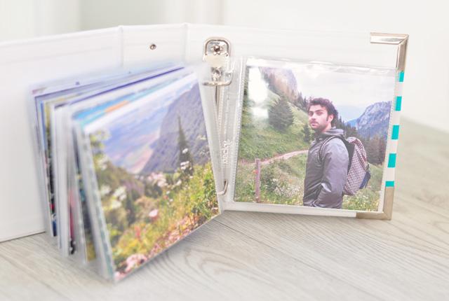 Balade à la montagne: hop dans mon mini Project Life