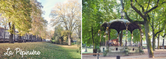 Que voir à Nancy: Le parc de la Pépinière
