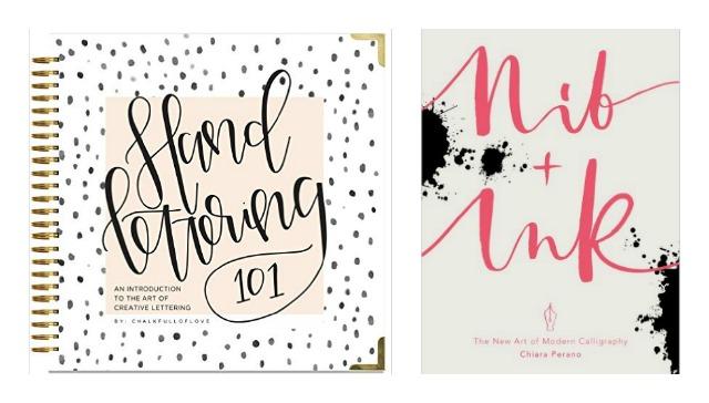 Livres pour se mettre au lettering