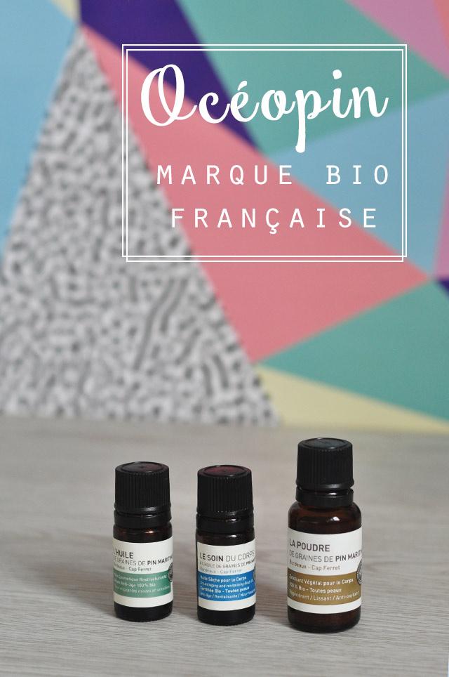 Mon avis sur Océopin, marque bio française misant sur l'huile de pin maritime
