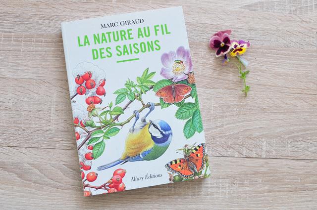 La nature au fil des saisons de Marc Giraud - mon avis sur ce livre