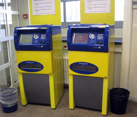 automate poste