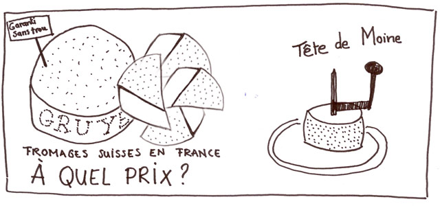prix fromages suisses en france