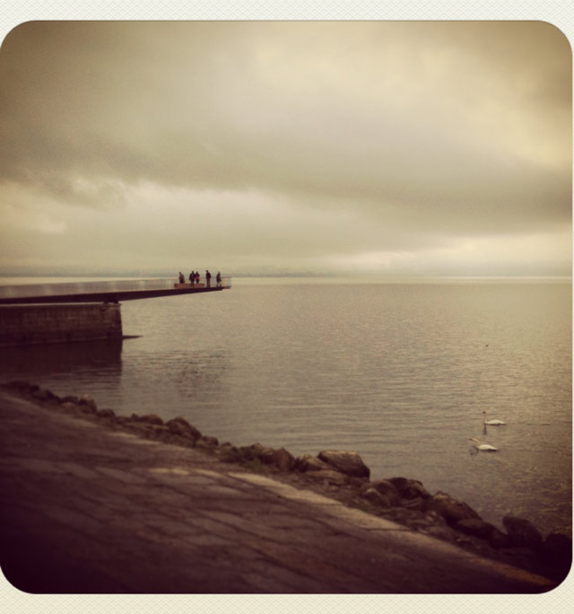 Neuchatel et son lac