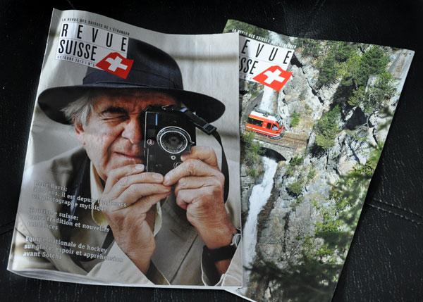 La revue des Suisses de l'étranger