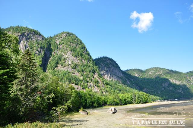 Au pied du Cap Trinité - Parc national du Fjord du Saguenay