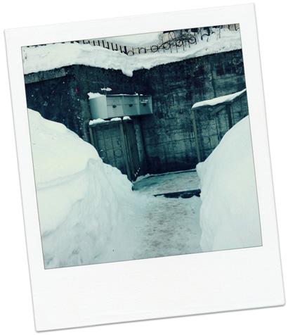 La Tchaux neige