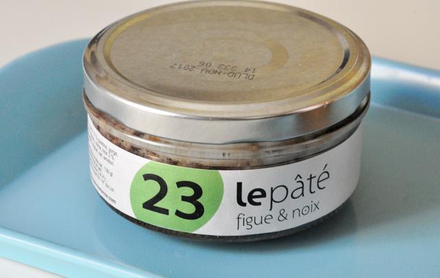 Paté aux figues de Bonjour French Food
