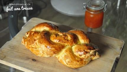 Tresse un pain typiquement suisse