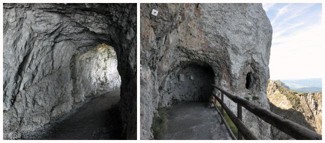 """Balade dans les """"grottes des dragons"""" du Pilatus"""