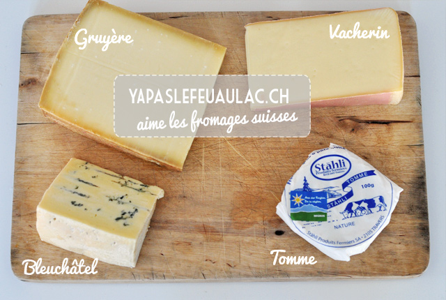 Que goûter en Suisse? Les fromages!
