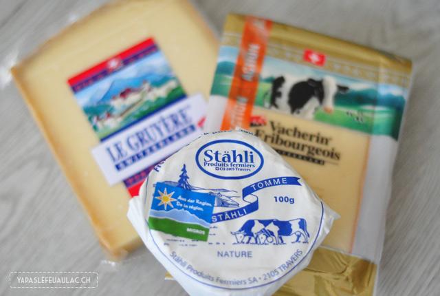 Des fromages suisses