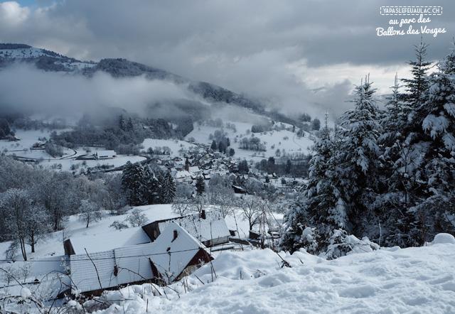 Hiver: escapade dans les Vosges