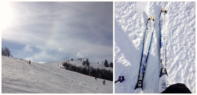 Ski au Markstein, Parc des Ballons des Vosges