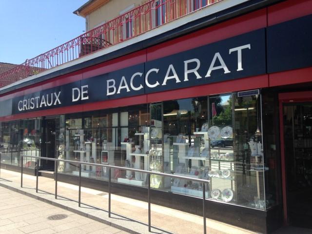 Magasin cristal de Baccarat