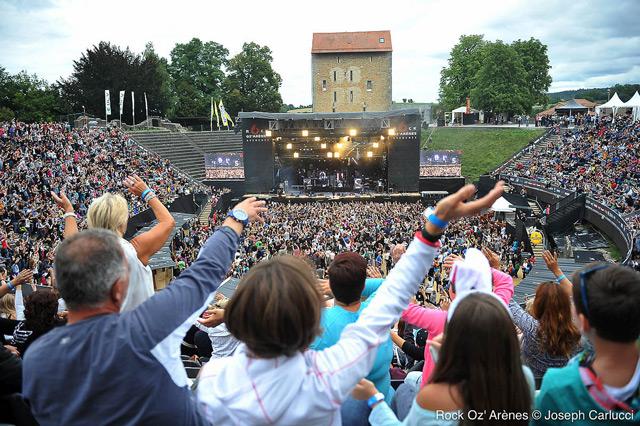 Les festivals suisses: Rock OZ Arènes