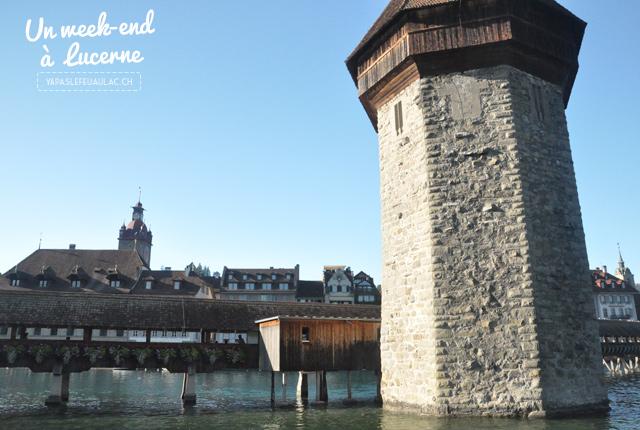 Voyage en Suisse - Pont de Lucerne