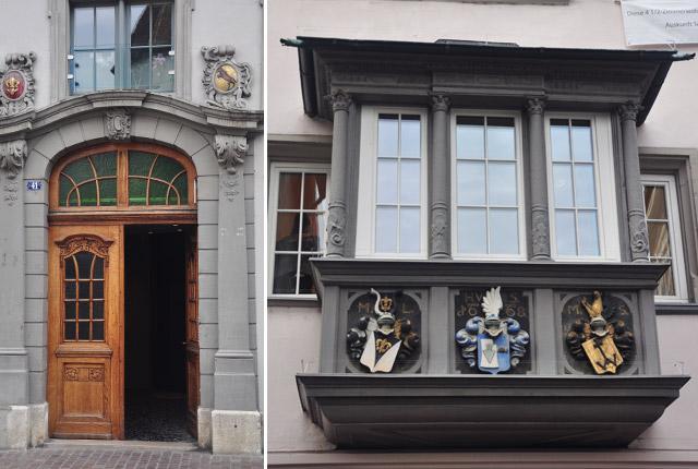 La vieille ville de Schaffhouse. Blog de voyage en Suisse Yapaslefeuaulac.ch