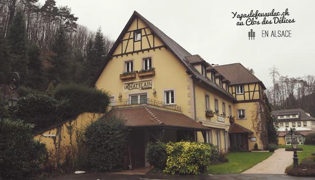 Avis sur l'Hotel Clos des Delices Ottrott en Alsace