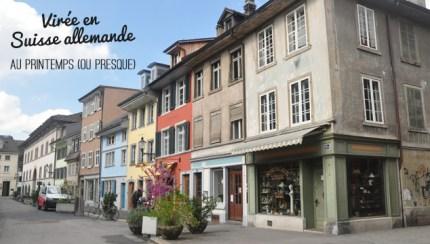 Voyage en Suisse allemande