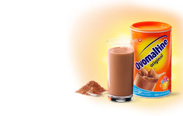 Un produit inventé en Suisse: l'Ovomaltine!