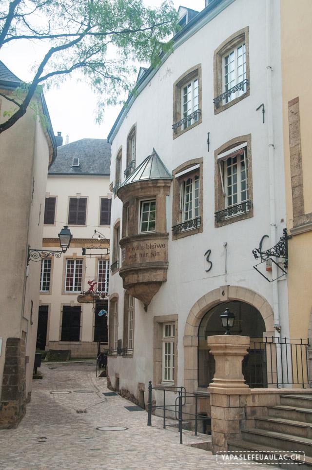 Centre historique Luxembourg