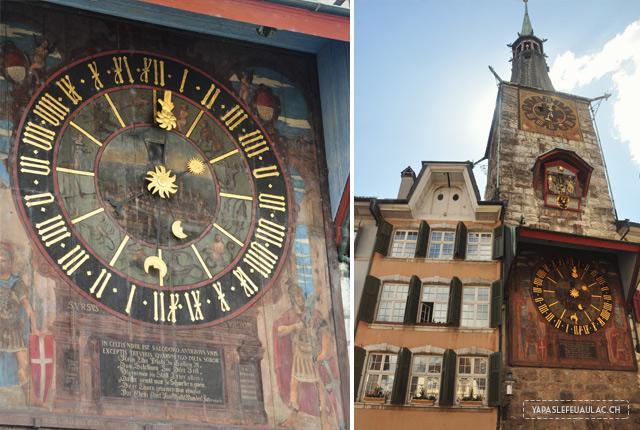 Que voir à Soleure? Incontournable, la tour de l'horloge de Soleure - Blog suisse Yapaslefeuaulac!