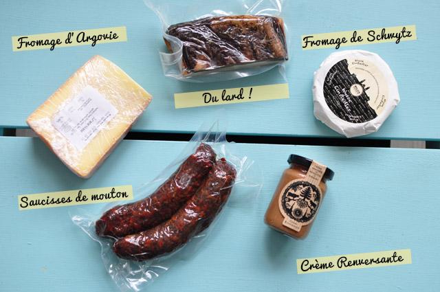 Ce que j'ai ramené du concours suisse des produits du terroir