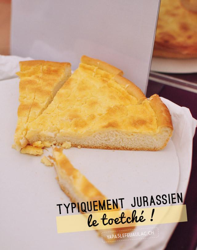 Terroir suisse: le toetché, un gâteau salé à la crème, spécialité du canton du Jura