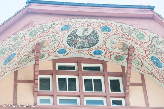 Visiter Aarau en Suisse, pour admirer ses fresques! - Visite de villes suisses sur le blog voyage Yapaslefeuaulac.ch