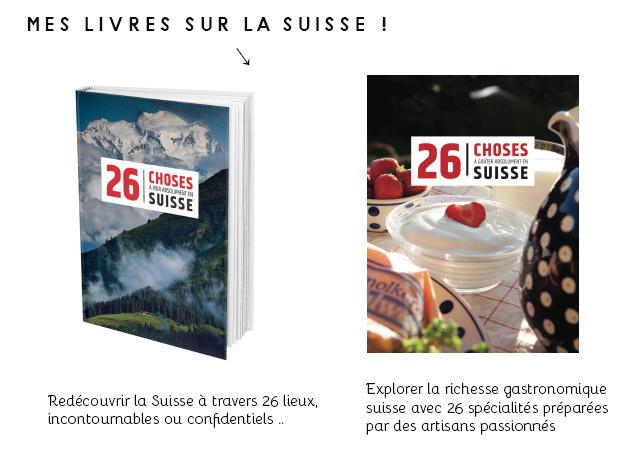 Mes livres sur la Suisse: des idées de cadeaux helvétiques !