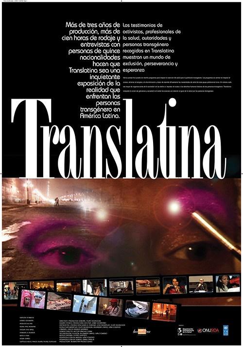 Translatina afiche