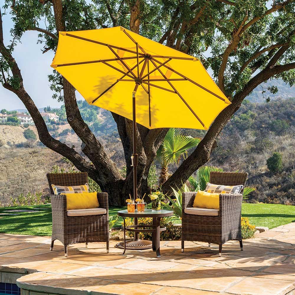 catalina 7 5 ft round sunbrella patio umbrella