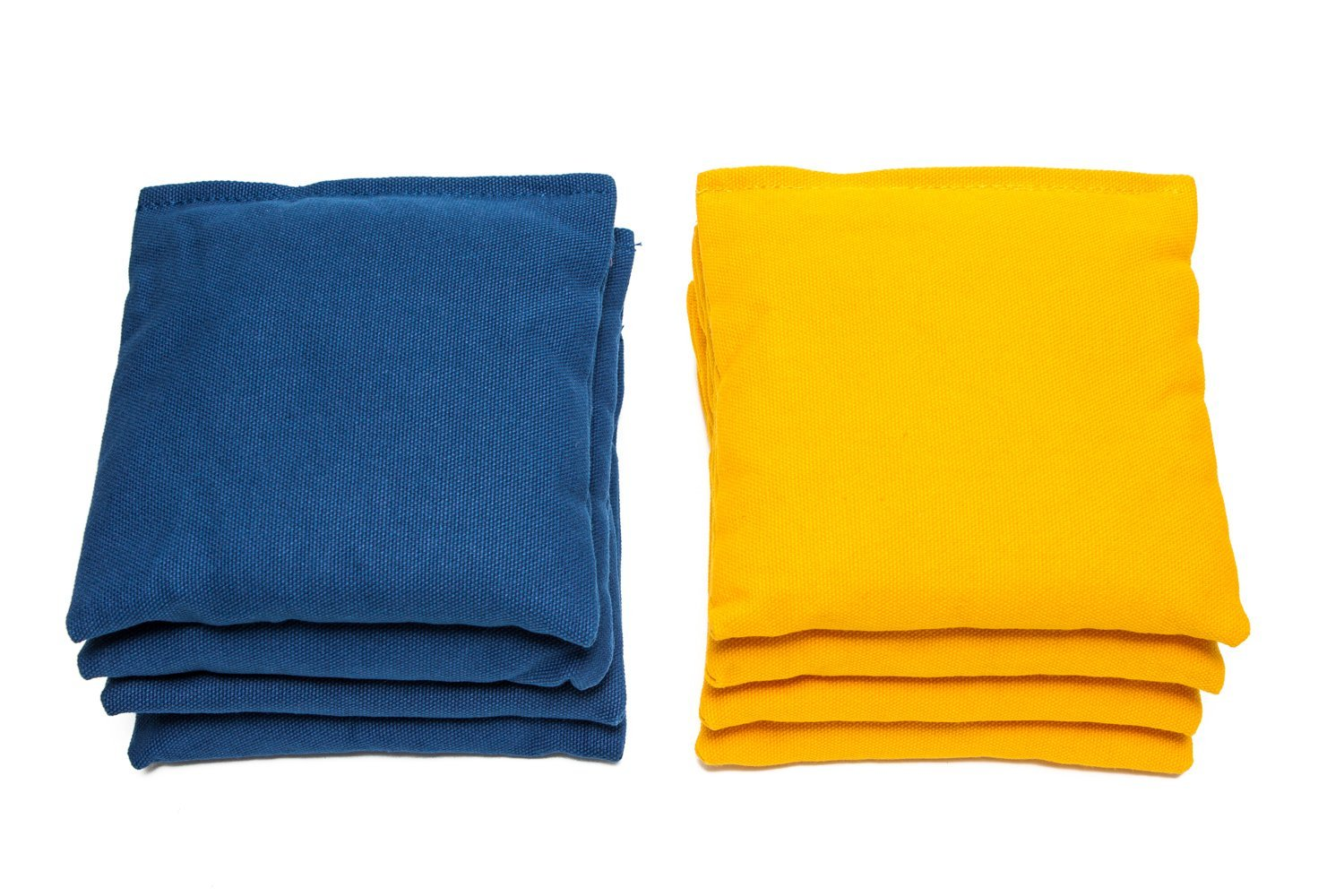 Yellow and Blue Cornhole Bags