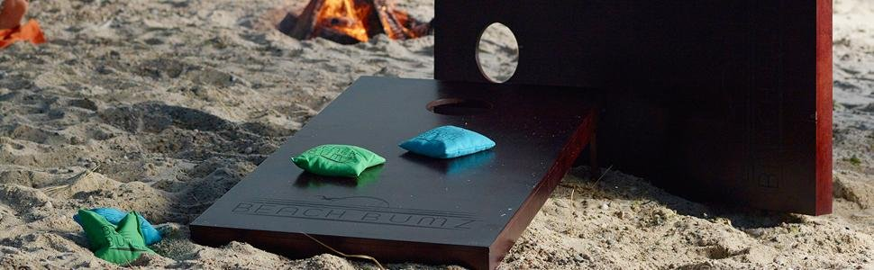 Cornhole on the Beach