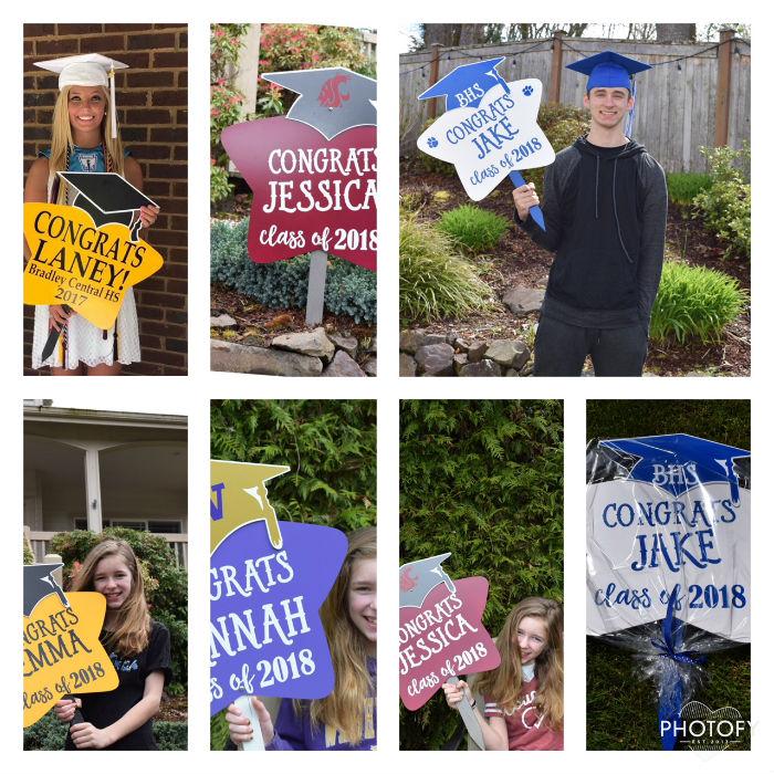 Personalized Grad Announcements