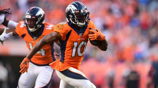 Broncos trade two-time Pro Bowl WR Emmanuel Sanders to 49ers
