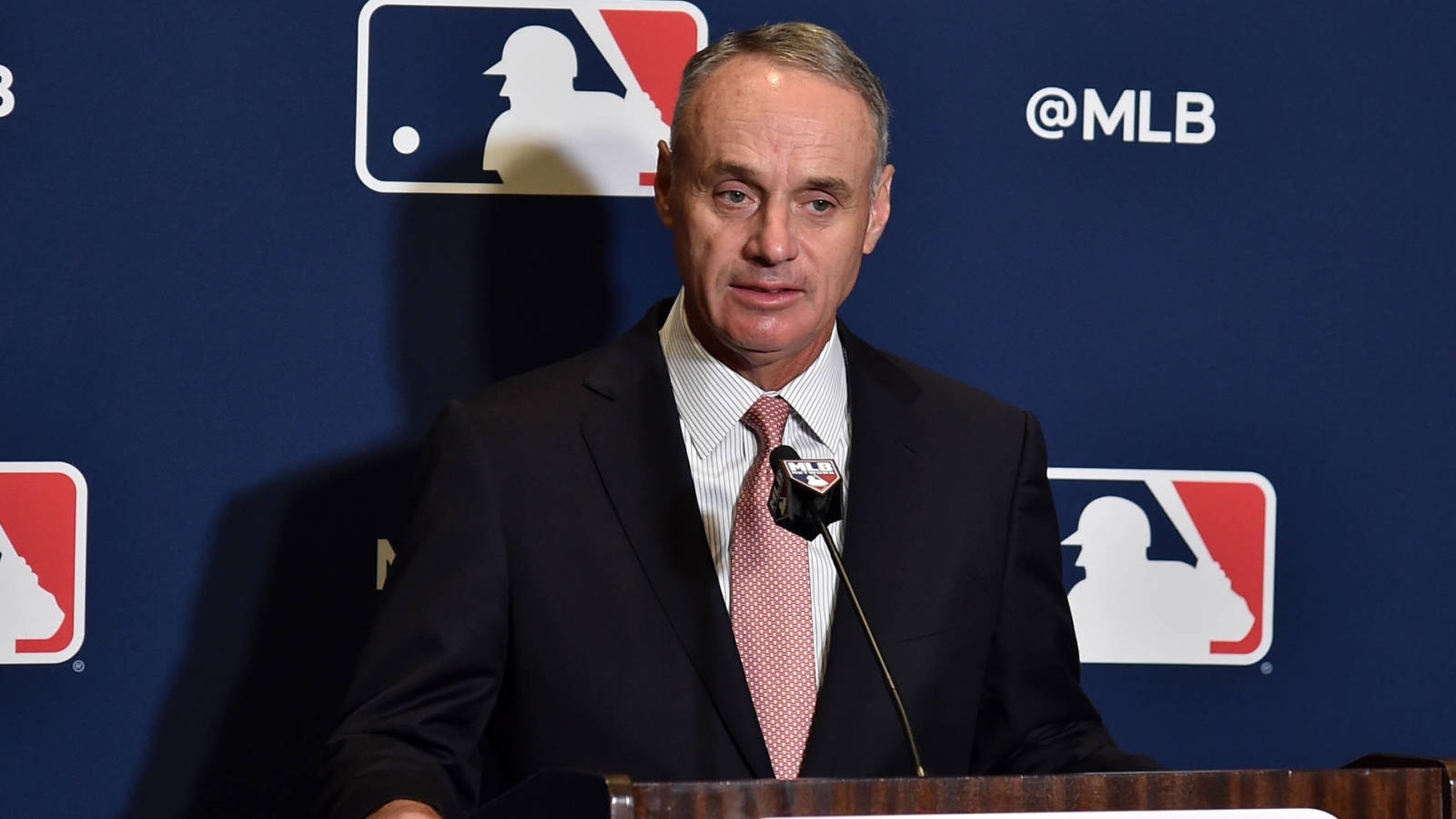 Photo of Rob Manfred: MLB, MLBPA have 'framework' of potential agreement