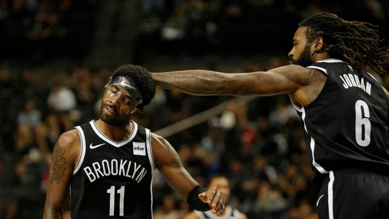 NBA world reacts to Kyrie Irving dropping 50 in Nets debut